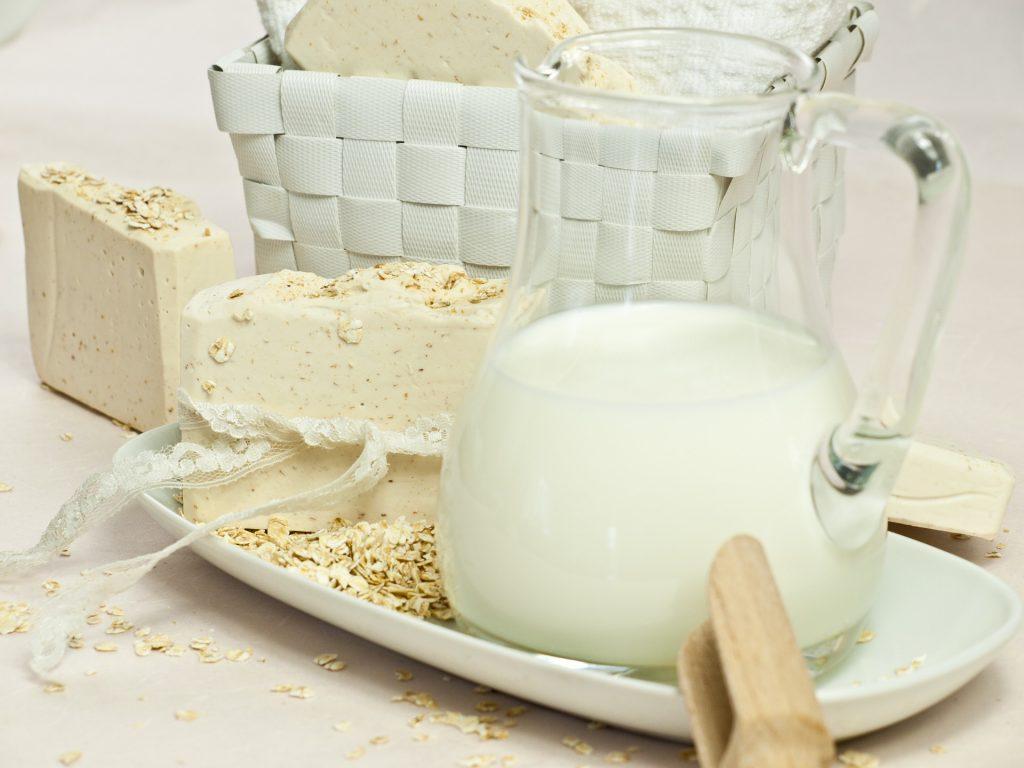 fabriquer savon lait de chevre